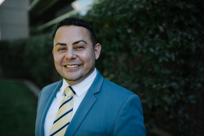 Lee Castillo, a 41-year-old social worker, is challenging Republican Rep. Rob Bishop for the 1st Congressional District. He faces a steep climb due to the district's partisan tilt and another well-funded third party challenger.