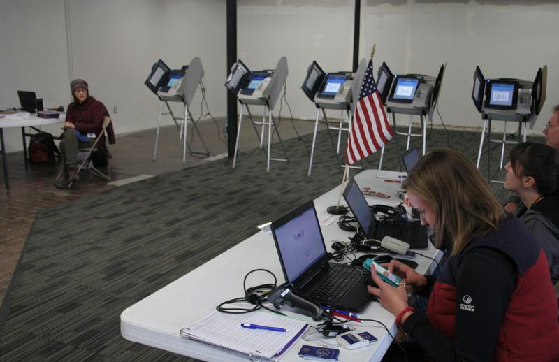 Photo of polling location.
