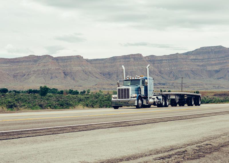 Photo of truck in Utah.