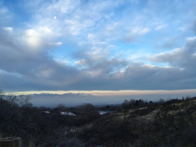 Photo of smog.