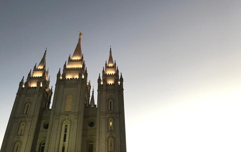 Photo of Salt Lake temple.