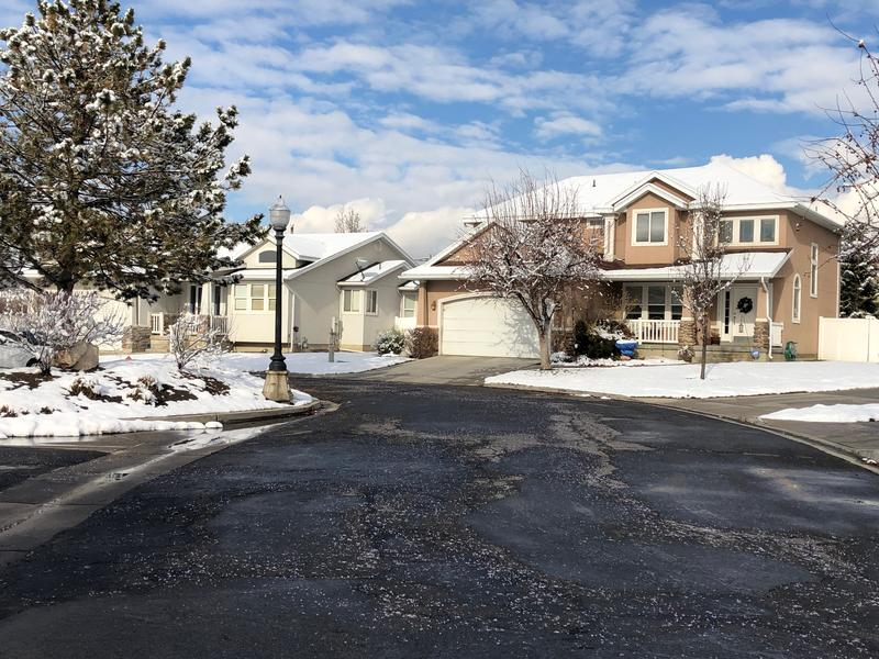 Seven homes on Granite Mills Court in Millcreek were previously in a blight study commissioned by the city earlier this year.