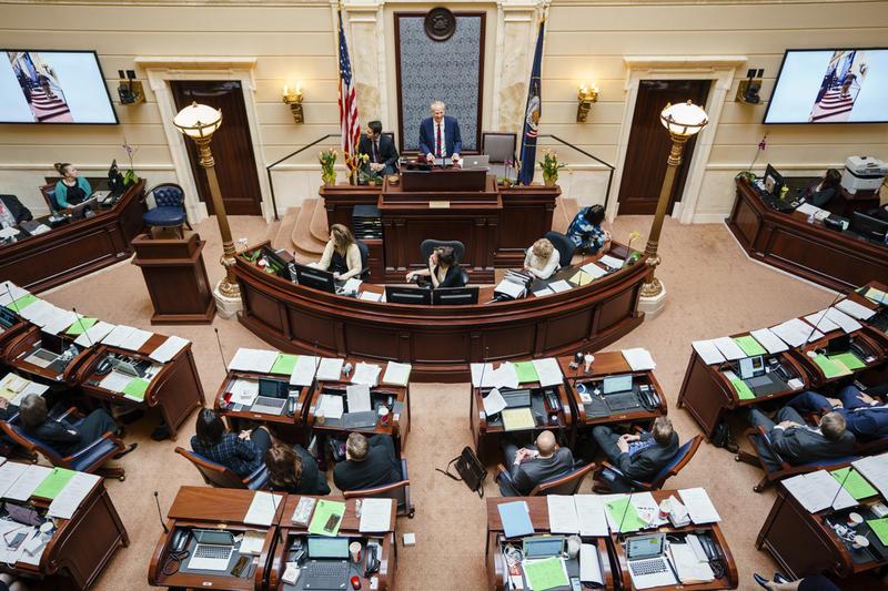 Photo of Utah Senate.