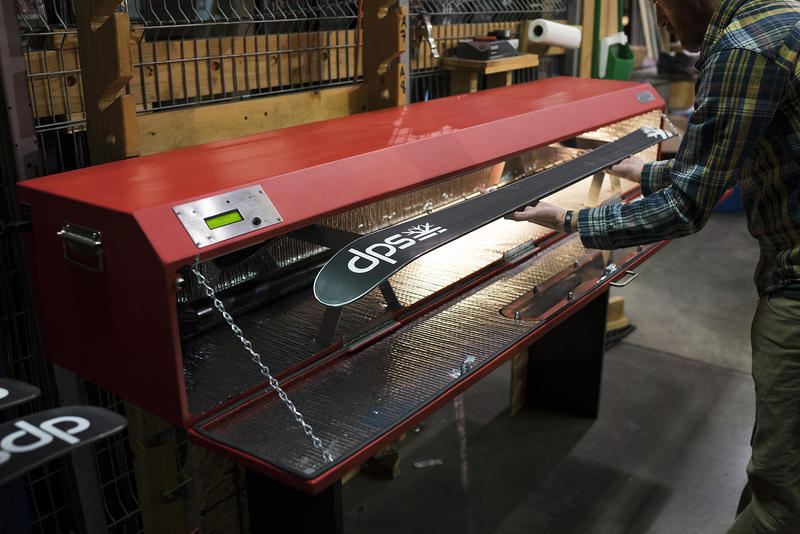 DPS Skis in Salt Lake City, Utah has created a new product called Phantom. It's a wax replacement that makes your skis go fast season after season.