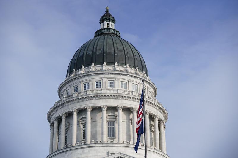 Photo of Utah Capitol.
