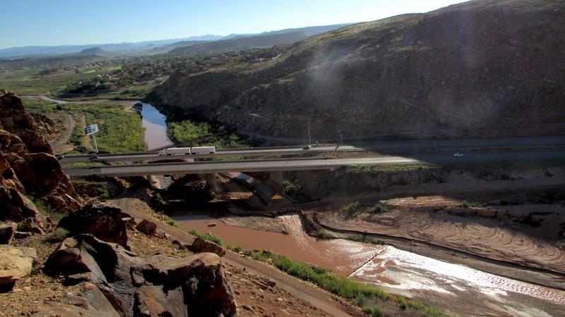 Photo of Virgin River in St. George, Utah