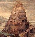 According to Genesis, God confused the languages of humankind when they united to build the Tower of Babel.