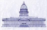 The Utah State Capitol building was first dedicated in 1916.