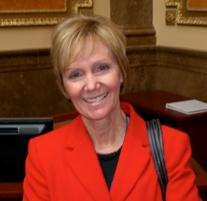 Utah State Representative Julie Fisher (R-Fruit Heights), a citizen lobbyist-turned-legislator.