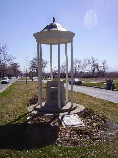 "Salt Lake City's <a href=""http://www.waymarking.com/waymarks/WM1CD1\"" target=\""_blank\"">Lone Cedar Tree Monument</a>"