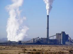 The Deseret Power Coooperative's Bonanza power plant near Vernal, Utah