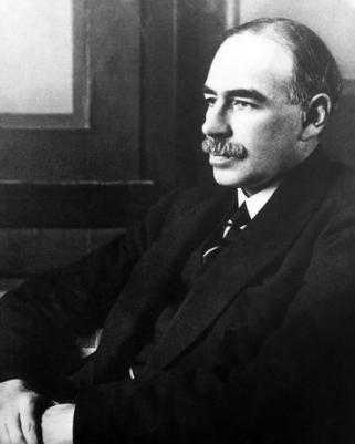Economist John Maynard Keynes, 1883?1946