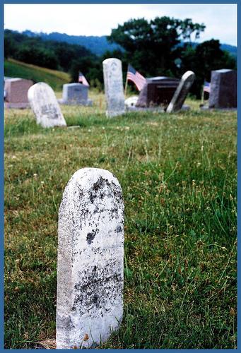 "Walnut Creek Cemetery, Walnut Creek, OH. Photo by <a href=\""http://www.flickr.com/photos/kesselring/878540454/\"" target=\""_blank\"">Kyle Kesselring</a>"