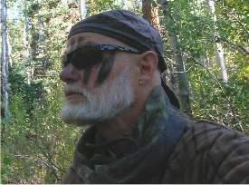 Author and hunter David Petersen