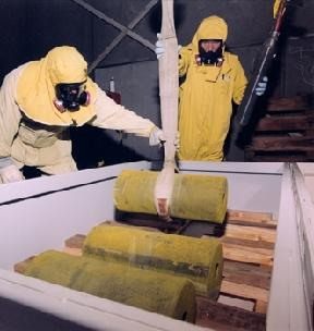 Depleted Uranium Ingots. Photo courtesy of The Department of Energy.