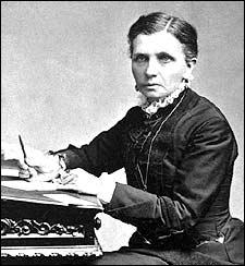 Emmeline B. Wells was the editor of the Woman's Exponent Magazine, the first successful publication for women west of the Mississippi, from 1877 to 1914. Courtesy: PBS.org