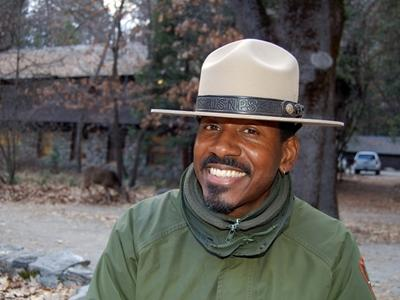 Novelist and national park ranger Shelton Johnson