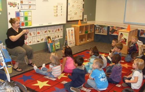 A Granite Preschool Program classrom