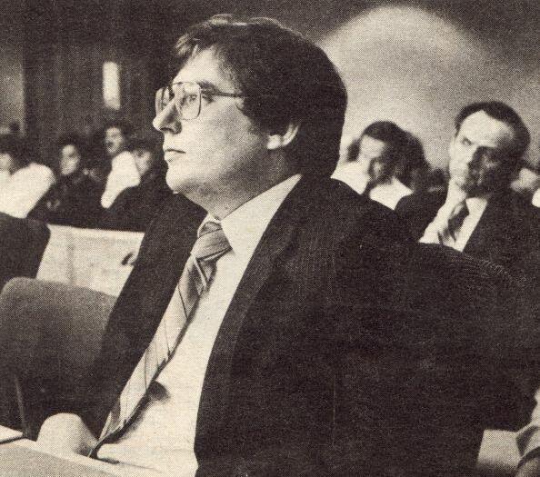 Mark Hofmann during his 1986 murder trial.