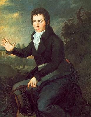 Ludwig van Beethoven, 1804, by WJ Mahler