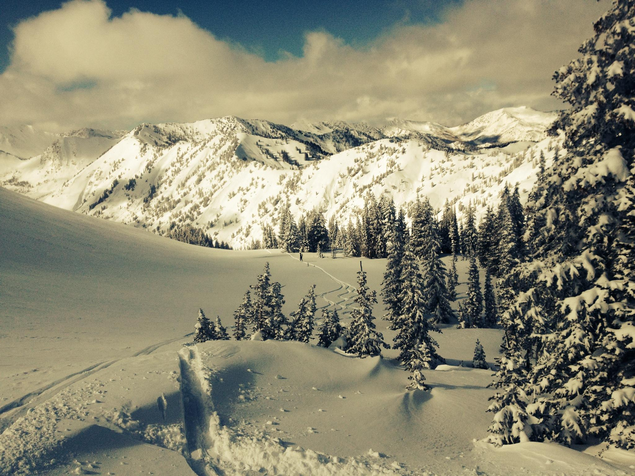 weekend storm gives welcomed boost to utah snowpack   kuer 90.1