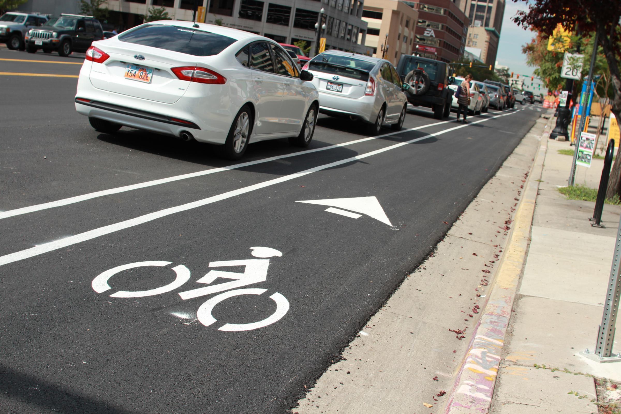 utah bike lanes
