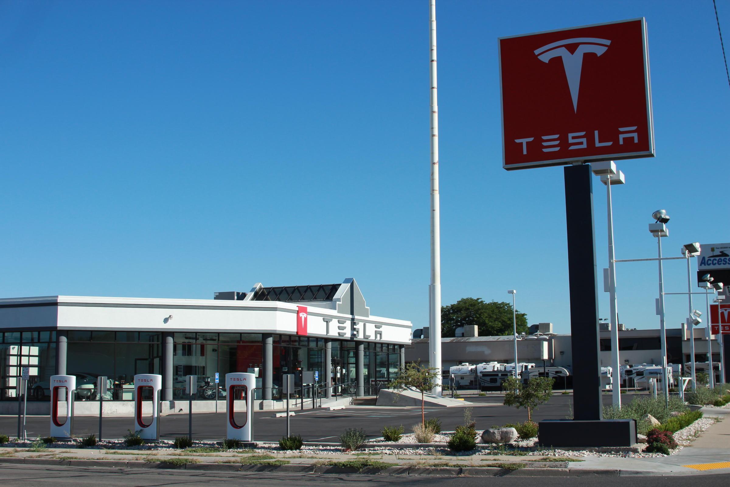 Tesla in utah