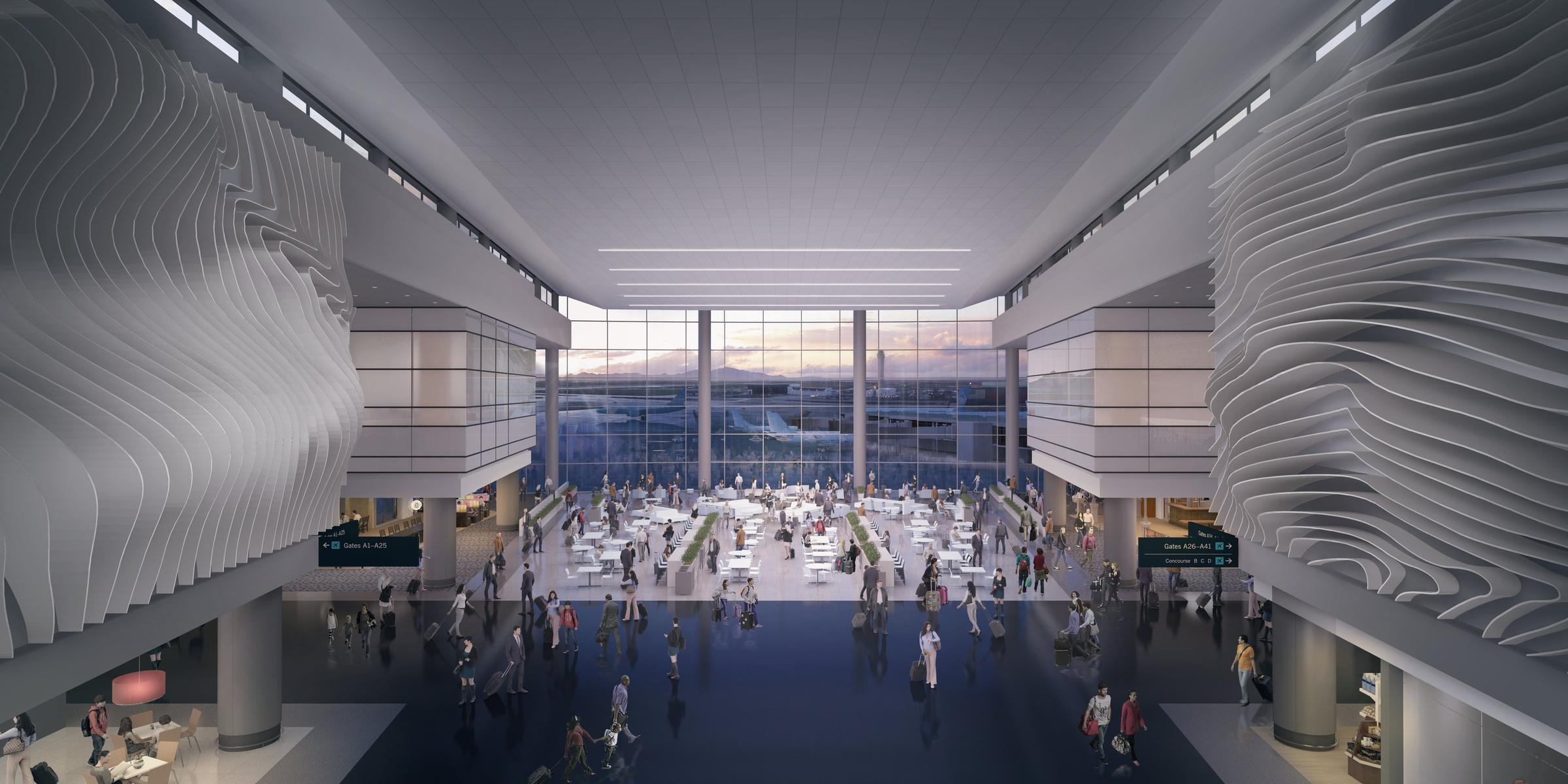 Salt Lake City Airport Unveils First Detailed Images Of