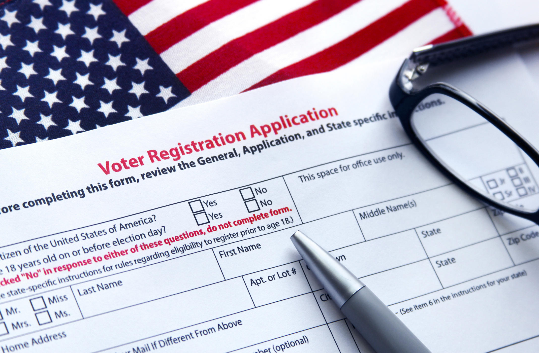 Bill For Automatic Voter Registration With Driver's License ...