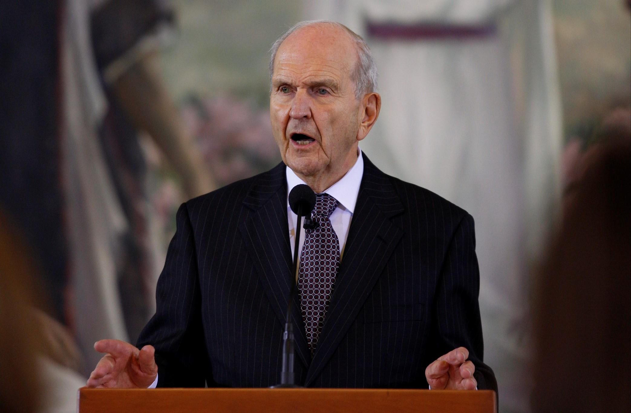 Nelson, the New President of the LDS Church