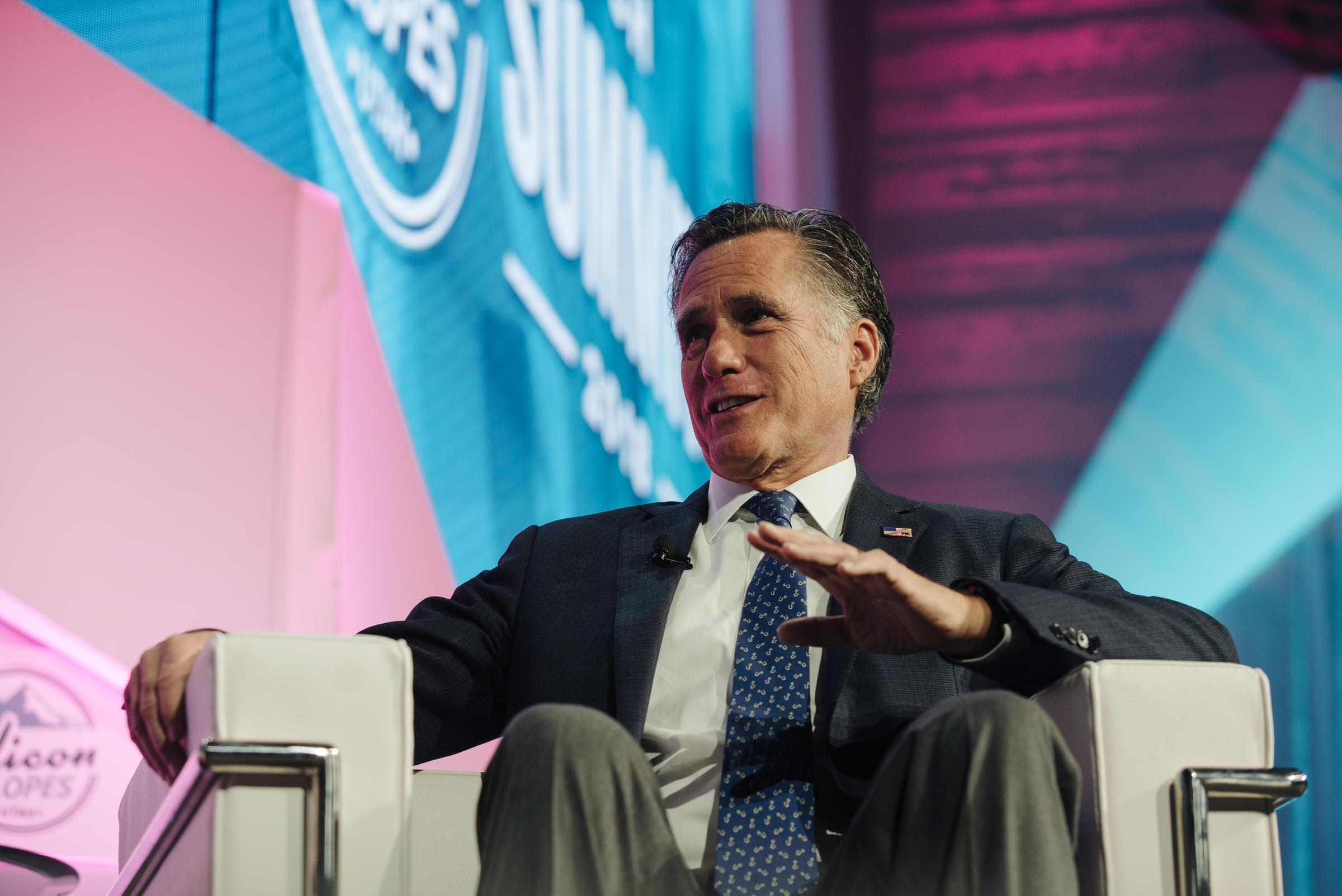 Mitt Romney: I'm 'More Conservative' Than Trump