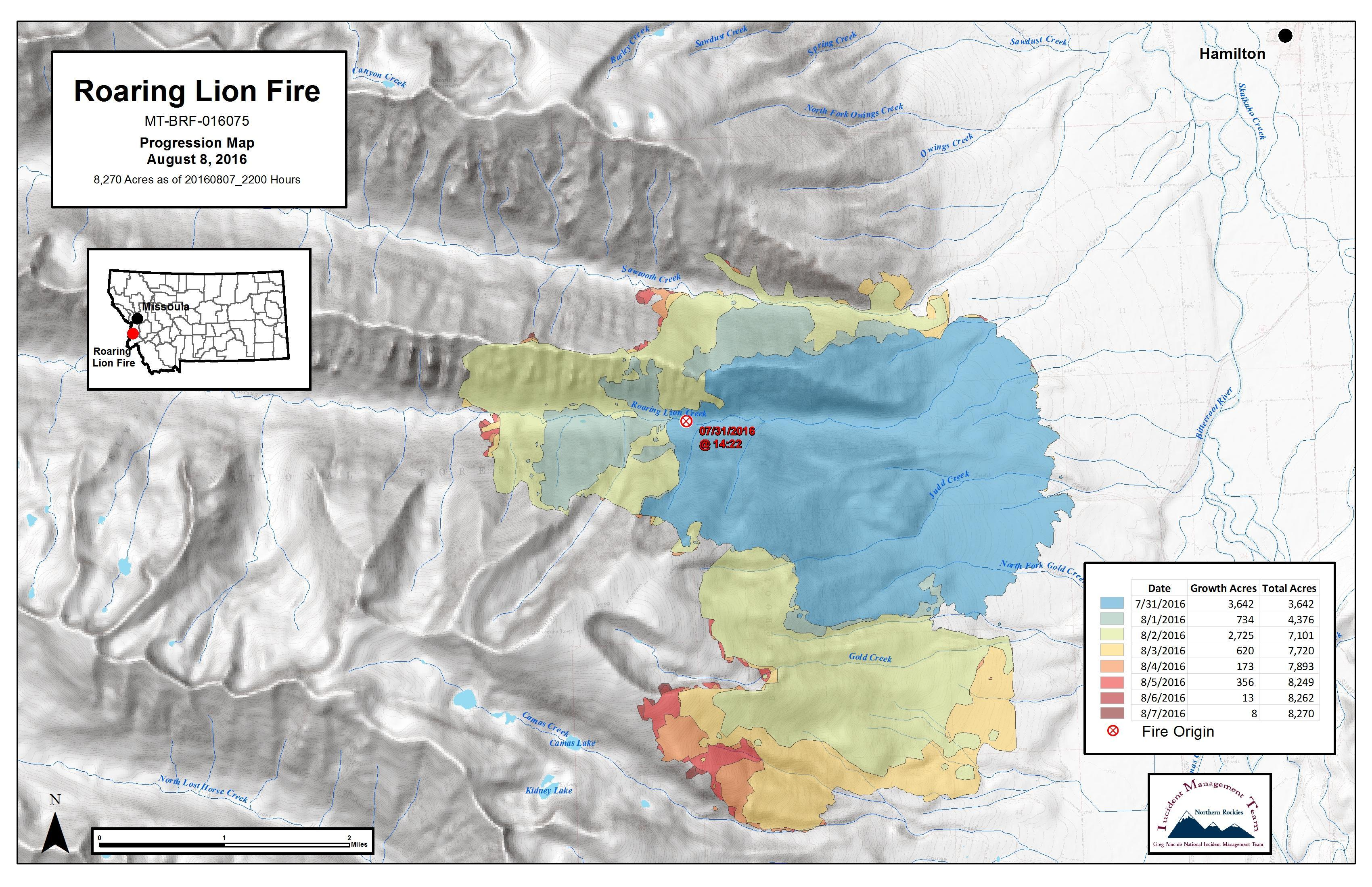 Montana Wildfire Roundup For August 12 2016 Mtpr
