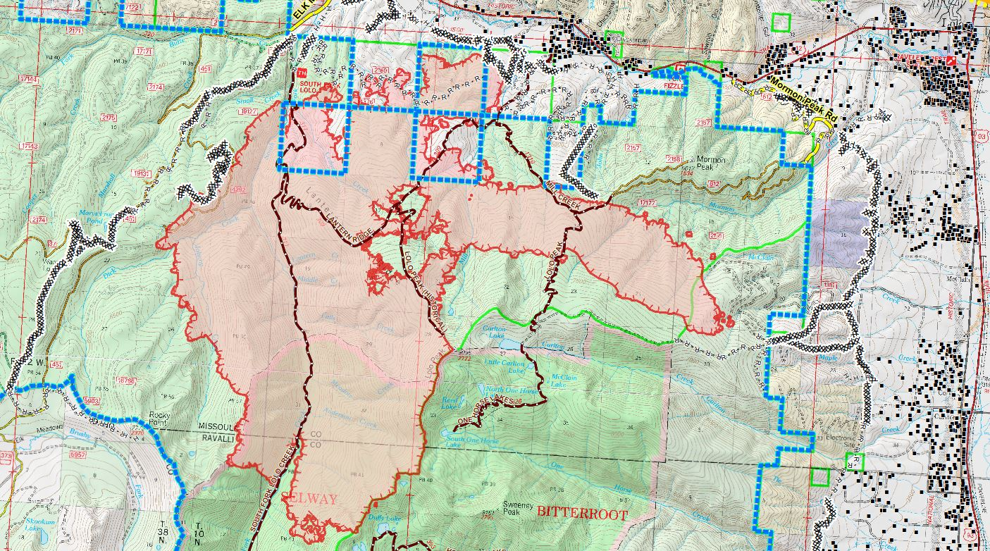 National Guard To Help With Lolo Peak Fire Mtpr
