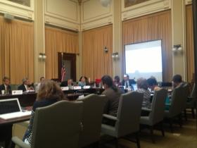 The Board of Education meets in the state capitol building in Helena Tuesday