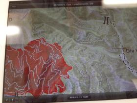 Updated fire perimeter map