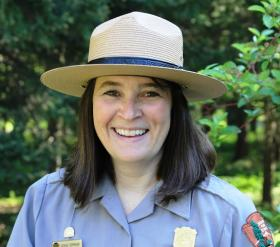 Glacier National Park public affairs officer Denise Germann
