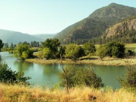 Clark Fork river near Paradise