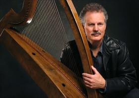 Celtic harper and storyteller Patrick Ball performs Sunday, November 17th, 3pm, at Swan Valley School.