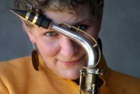 """Jazz musician Madaline """"Mad"""" Duran"""