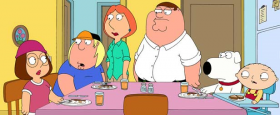 "Dinner table of ""Family Guy"""