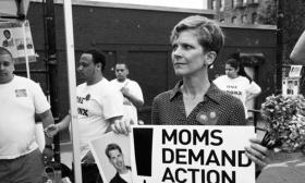 "Kim Russell, Director of Outreach for ""Moms Demand Action for Gun Sense in America"""