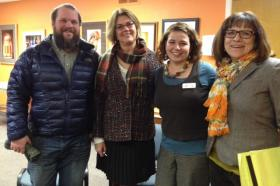 (L-R) Jason Wiener, Gail Gutsche, Jen Euell and Nancy Wilson. (Celeste Thompson not pictured)