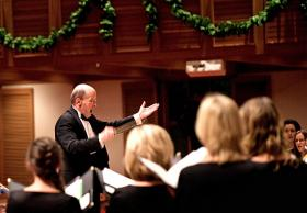 Welcome Christmas conductor Philip Brunelle