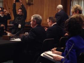 Senators Max Baucus and Jon Tester