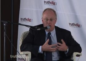 Best-selling author and journalist Chris Hedges