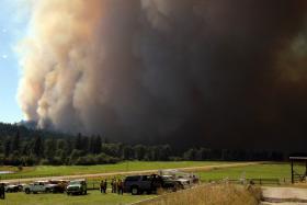 Lolo Creek Complex fire