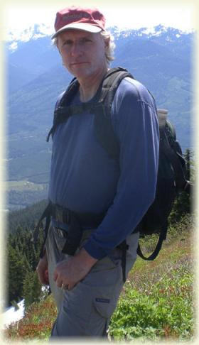 Forest service research scientist David Peterson