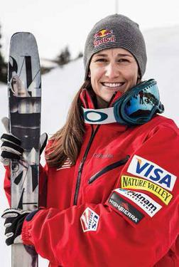 Olympic freestyle moguls skier Heather McPhie