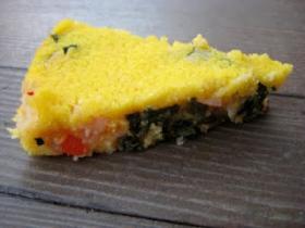 Baked polenta with vegetables