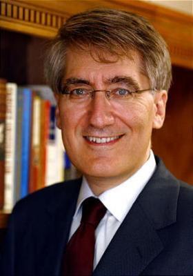 Princeton University professor and author Robert P. George